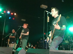Bowling for Soup performs in Manchester, England