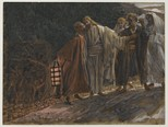 The Kiss of Judas by James Tissot, Brooklyn Museum, between 1886 and 1894