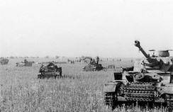 The Battle of Prokhorovka was one of the largest tank battles ever fought. It was part of the wider Battle of Kursk.