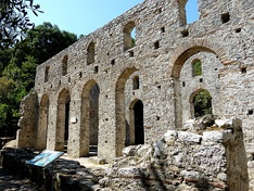 The Basilica of Butrint.