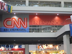 CNN en Español newsroom/studio in Atlanta, GA.