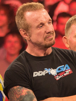 DDP on Raw's 1000th episode in July 2012