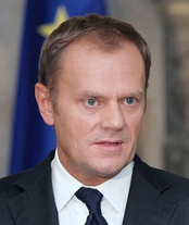 Donald Tusk, the leader of Civic Platform and Prime Minister (2007-14), he was the first prime minister to be reelected, in 2014 he became the President of the European Council.