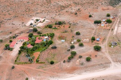A typical farm in Namibia