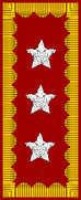 General de División of the Chilean Army