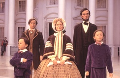Lincoln Family at the Abraham Lincoln Presidential Library and Museum in Springfield, Illinois