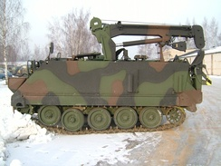 Lithuanian Army M113 fitter and repair vehicle