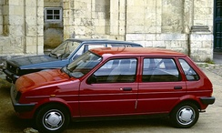 A five-door Metro eventually became available in October 1984.