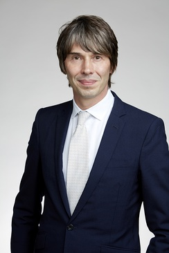 Professor Brian Cox was elected a Fellow of the Royal Society in 2016 having previously held a Royal Society University Research Fellowship (URF) from 2005 to 2013[42]