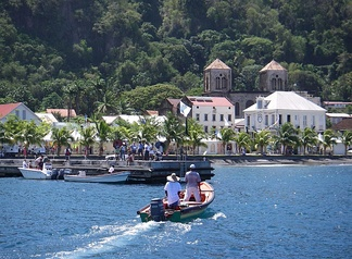 "Saint-Pierre. Before the total destruction of Saint-Pierre in 1902 by a volcanic eruption, it was the most important city of Martinique culturally and economically, being known as ""the Paris of the Caribbean""."
