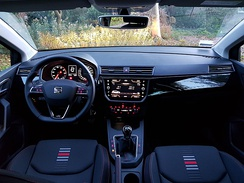 Interior view of the FR spec