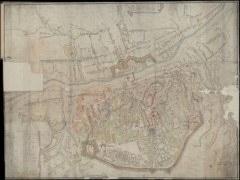 Подробный план города Смоленска 1778 года.