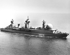 Command and communications ship SSV-33 Ural