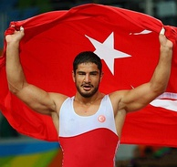 Taha Akgül is an Olympic, World and European champion Turkish wrestler.