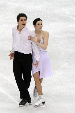 Virtue and Moir at the 2010 Worlds