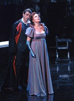 Raina Kabaivanska in Tosca, Madrid 2004