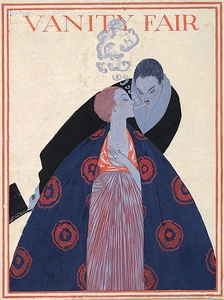 A Vanity Fair cover by Georges Lepape (1919)