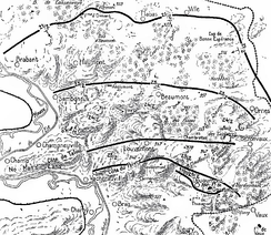Verdun, east bank of the Meuse, 21–26 February 1916