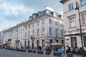 New World Street, one of the main shopping promenades in Warsaw