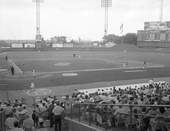 Municipal Stadium, home of the Royals from their inception until 1973.