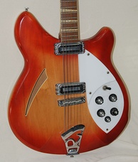 A Rickenbacker 360/12 identical to the 12-string guitar used by Carl Wilson in the early to mid-1960s