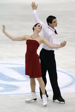 Virtue and Moir at the 2012 World Championships