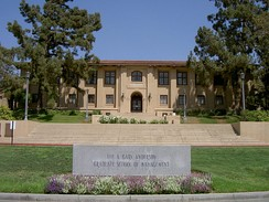 The original UC Citrus Experiment Station which now houses the A. Gary Anderson Graduate School of Management at the UCR School of Business Administration.