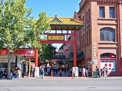 Chinatown on Moonta Street in the Market precinct