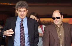 Alan F. Horn, the Warner Bros. president and Jason Alexander, May 2010.