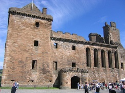 The south face of Linlithgow Palace