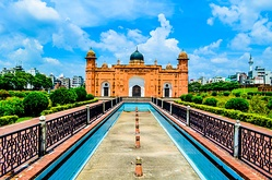 The Lalbagh Fort was developed by Shaista Khan.