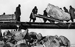 Millions of Gulag inmates were forced to work on massive government projects such as the construction of the White Sea–Baltic Canal in 1931–1933