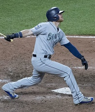 Gamel with the Mariners