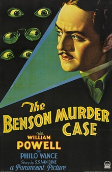 Poster for The Canary Murder Case (1929), featuring Louise Brooks