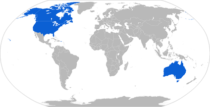 Map of Bison operators in blue