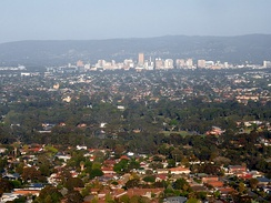 Adelaide is the largest metropolitan area in the state.