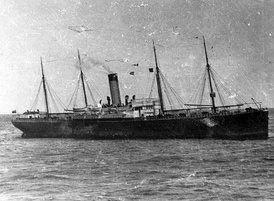 The SS Californian, which had tried to warn Titanic of the danger from pack-ice