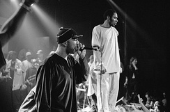 Common performing with Mos Def, 1999