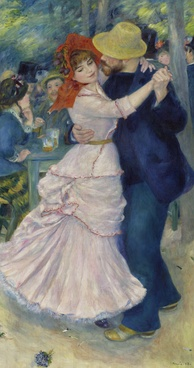 Dance at Bougival by Pierre-Auguste Renoir (1883)