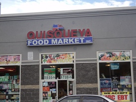 A Dominican American grocery store.