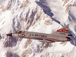 The F-102A was flown only from 1966 to 1969.
