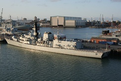 BAE Systems Maritime – Maritime Services operates ship repair and refit facilities within Portsmouth Naval Base.