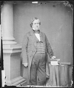 John P. Hale, photograph by Mathew Brady