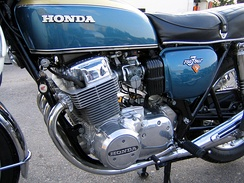 Honda CB750 engine