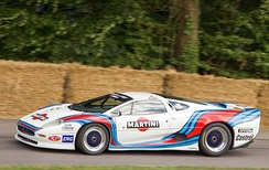 Jaguar XJ220 GT, raced in the Italian GT championship