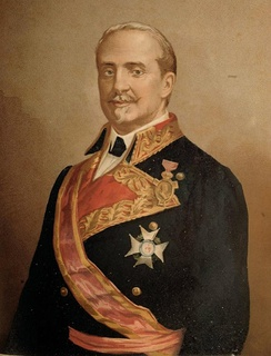 General The 1st Duke of Tetuan, Grandee of Spain and President of the Council of Ministers of Spain