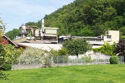 Secondary sector: casting plant Erzberg in Liestal