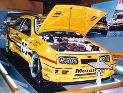 The Ford Sierra RS500 Mezera drove to win 1988 Tooheys 1000