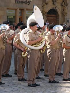 Военный парад в Люксембурге