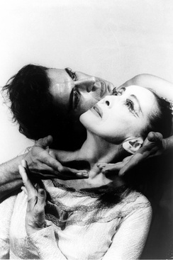 Martha Graham and Bertram Ross in 1961; photo by Carl van Vechten